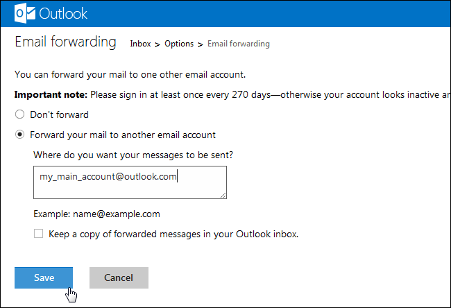 How to Combine All Your Email Addresses into One Outlook com Inbox
