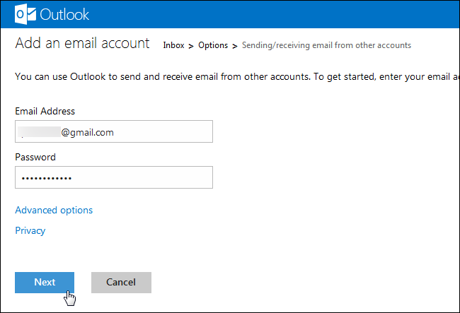 How to Combine All Your Email Addresses into One Outlook com
