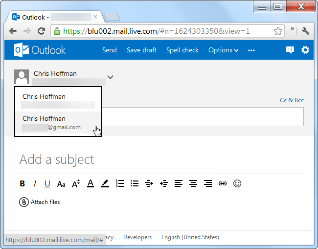 Consolidating email accounts outlook
