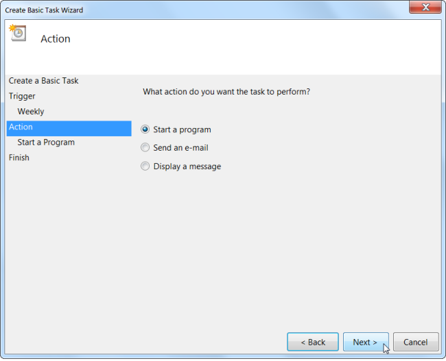 how to automatically run programs and set reminders with the windows