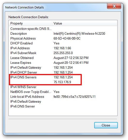 Configure your network settings to use Google Public DNS