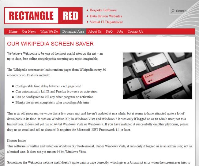 12_wikipedia_screen_saver_site