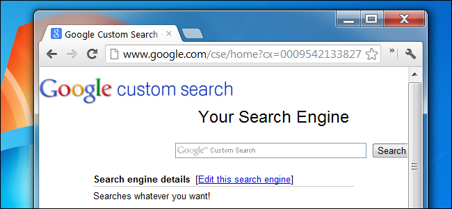 How To Create Your Own Custom Google Search Engine
