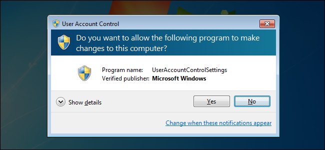 Why You Shouldn't Disable User Account Control (UAC) in Windows