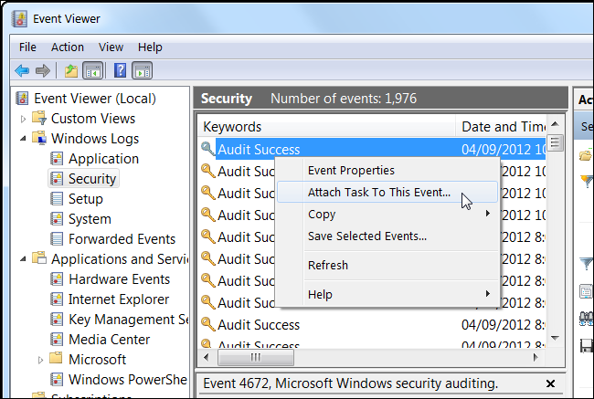 how to delete events from event viewer