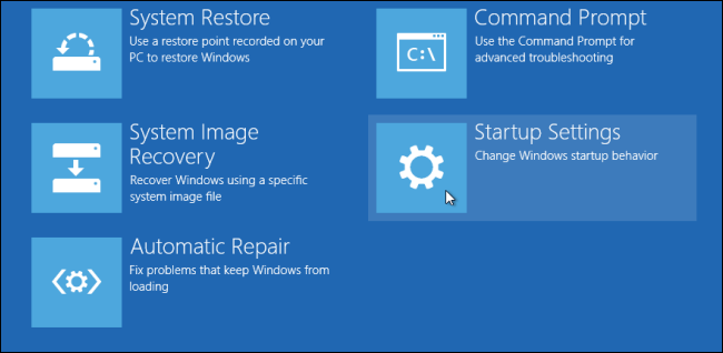 three ways to access the windows 8 or