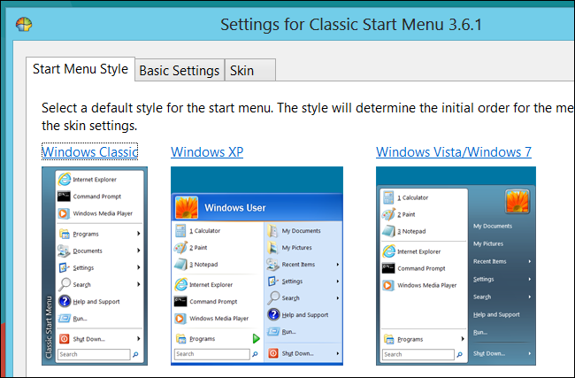 classic shell windows 8 free