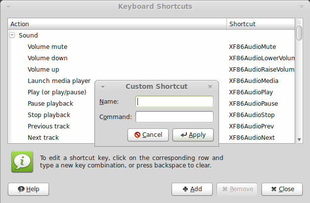 How To Bind Global HotKeys to a WINE Program under Linux