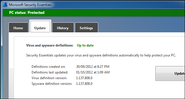 avg virus definitions update