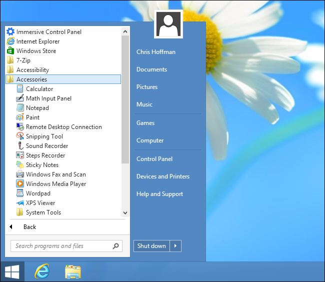 where is paint in windows 8