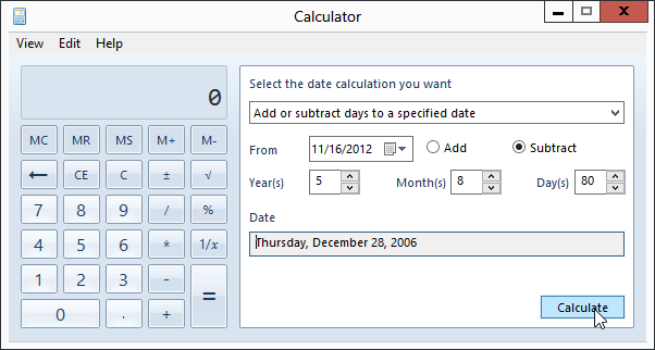 How to calculate how long youve been dating someone