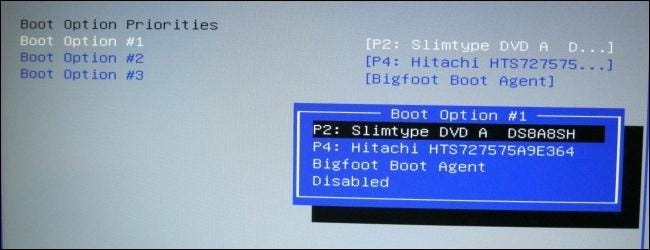 boot laptop from usb hard drive
