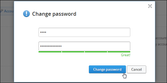 change-dropbox-password