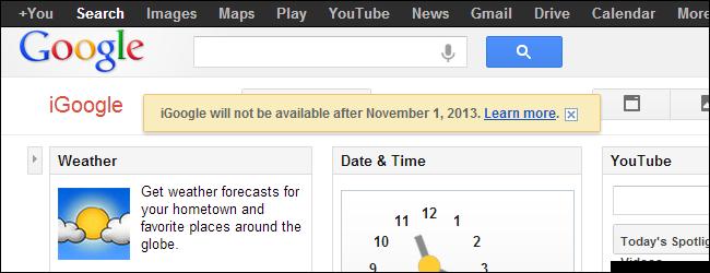 igoogle-shutdown