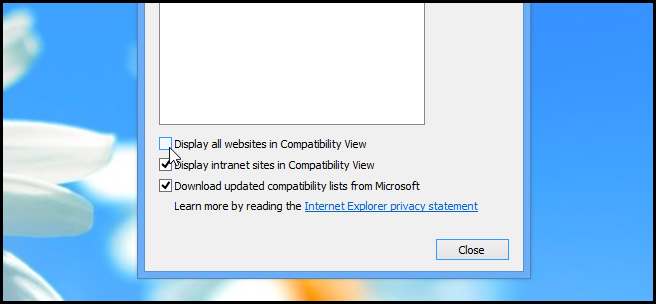 How to Disable Compatibility Mode in Internet Explorer