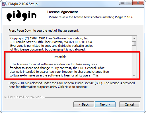 pidgin-license-agreement