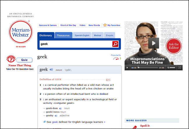 The Best Free Dictionary and Thesaurus Programs and Websites - Tips