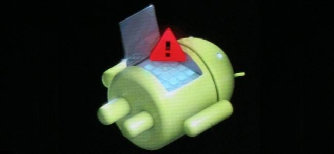 How to Factory Reset Your Android Phone or Tablet When It Won't Boot