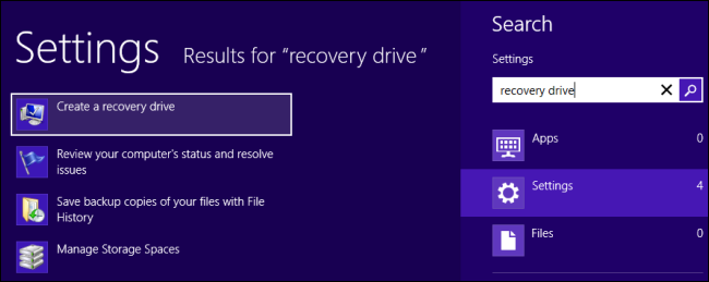 How to Create and Use a Recovery Drive or System Repair Disc in ...