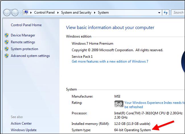 windows 7 32 bit ram support