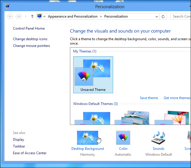 How To Change the Window Border Color in Windows 8