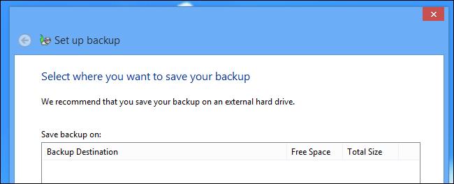 how to set up backup on windows 7