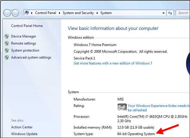 how to know your motherboard windows 7
