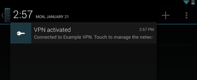 android-vpn-activated