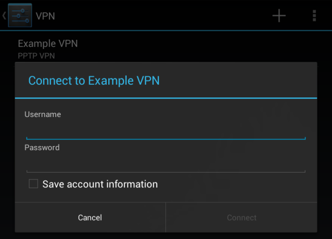 android-vpn-credentials