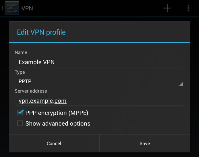 android-create-vpn-profile