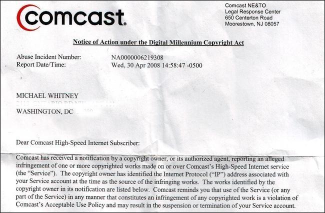 comcast-dmca-letter