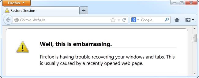 How to Troubleshoot Mozilla Firefox Crashes