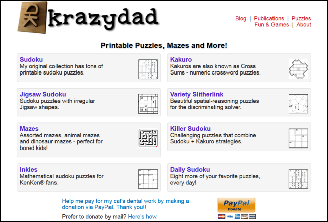 graphic relating to Krazydad Printable Sudoku identify The Most straightforward Internet websites for Obtaining No cost Puzzles toward Fix
