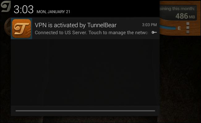 tunnelbear-on-android
