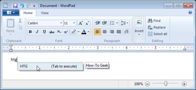wordpad ms office
