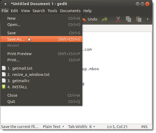 How to Backup Your Gmail Account Using Your Ubuntu PC