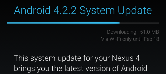 How to Force an Android Device to Find a System Update