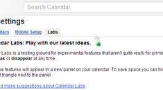 Get More From Google Calendar By Adding Labs Features