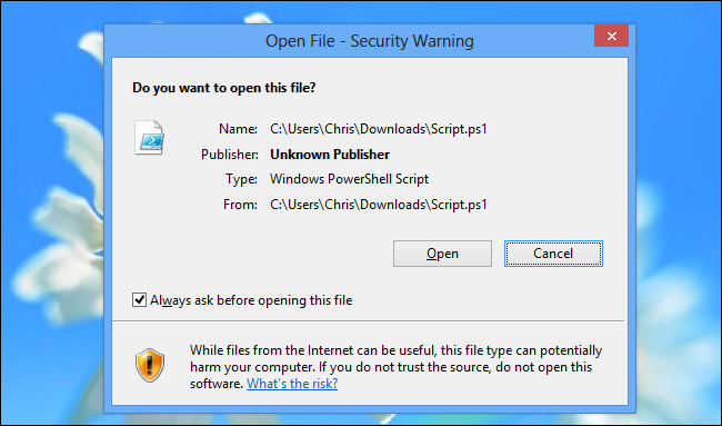 50+ File Extensions That Are Potentially Dangerous on Windows