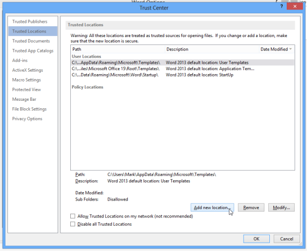 How to Open Blocked Files in Office 2013