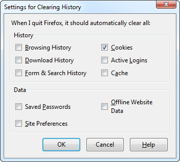 firefox-automatically-clear-cookies