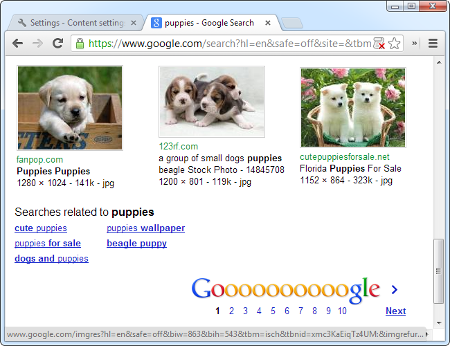 google-images-without-javascript