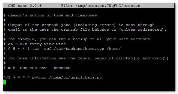 how to run cron job from terminal