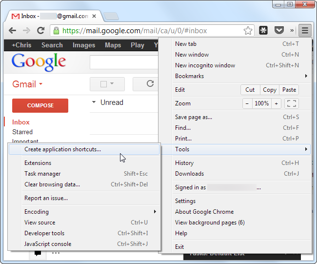 chrome-create-application-shortcuts