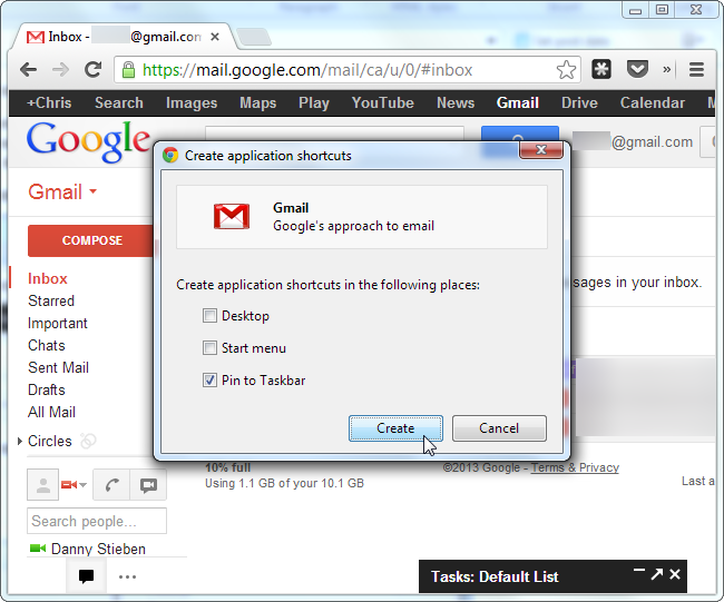 chrome pin web app to taskbar2