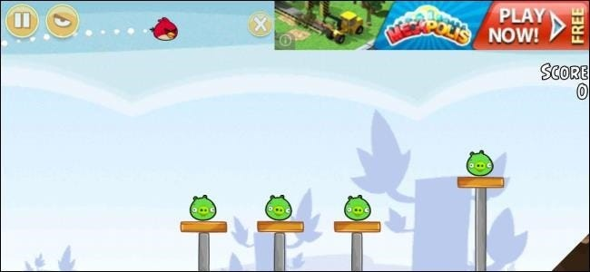 Why free ad supported apps may cost you more than paid apps advertisement in angry birds on android voltagebd Gallery