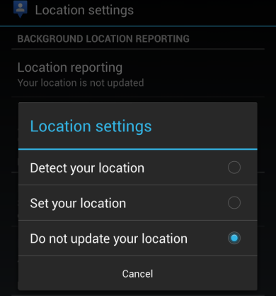 android-disable-background-location-reporting