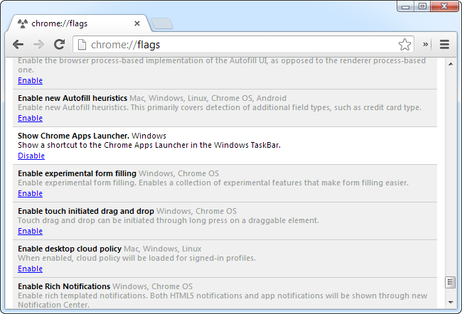 enable-chrome-apps-launcher