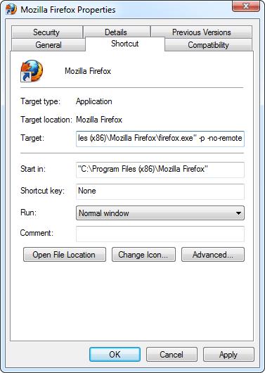 firefox-no-remote