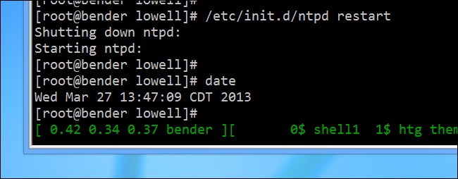 how to sync your linux server time with network time servers ntp rh howtogeek com manually set ntp time linux manually change time linux